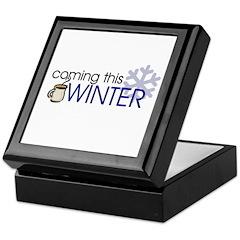 Coming this Winter Keepsake Box