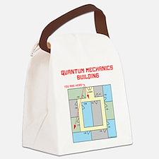 Quantum Mechanics Building Canvas Lunch Bag