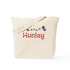 Hunley, Christmas Tote Bag