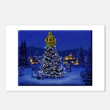 Dominguez High Christmas Postcards (Package of 8)