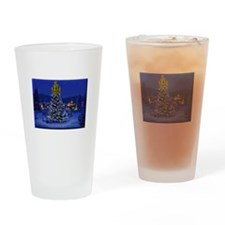 Dominguez High Christmas Drinking Glass