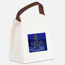 Dominguez High Christmas Canvas Lunch Bag