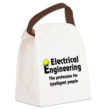 Smart Electrical Engineer Canvas Lunch Bag
