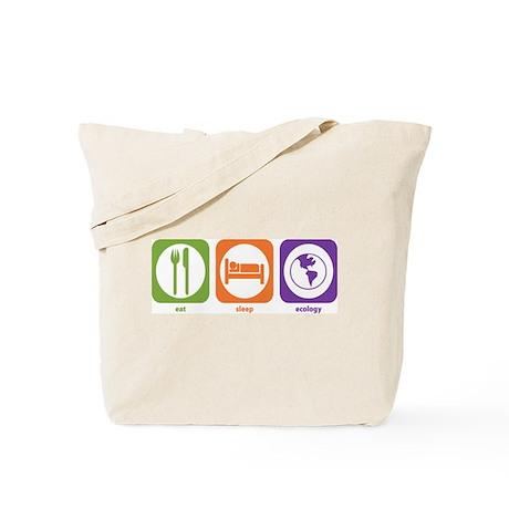 Eat Sleep Ecology Tote Bag