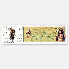"""""""The Trail of Tears"""" Bumper Bumper Bumper Sticker"""