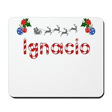 Ignacio, Christmas Mousepad