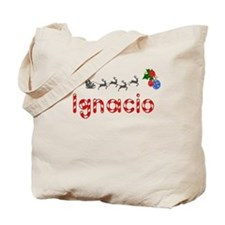 Ignacio, Christmas Tote Bag