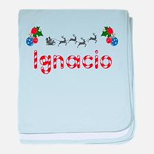 Ignacio, Christmas baby blanket