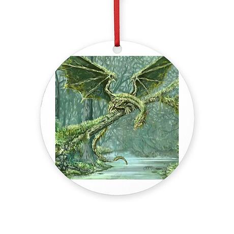 Earth Dragon Ornament (Round)