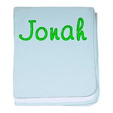 Jonah Glitter Gel baby blanket