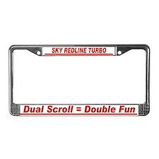 Sky RL Double Fun - License Plate Frame