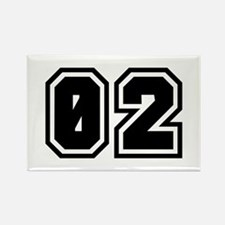 SPORTS JERSEY 02 Rectangle Magnet