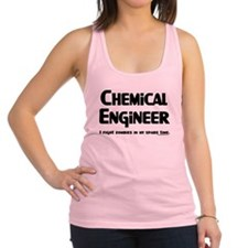 Chemical Engineer Zombie Figh Racerback Tank Top
