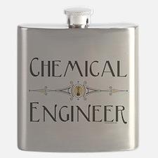 Chemical Engineer Line Flask