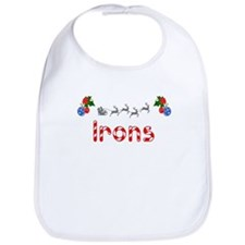 Irons, Christmas Bib