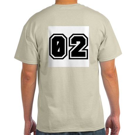 SPORTS JERSEY 02 Ash Grey T-Shirt