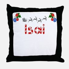 Isai, Christmas Throw Pillow