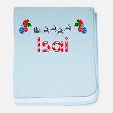 Isai, Christmas baby blanket