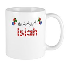 Isiah, Christmas Small Mug