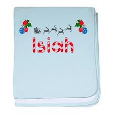 Isiah, Christmas baby blanket