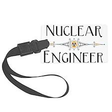 Nuclear Engineer Line Luggage Tag