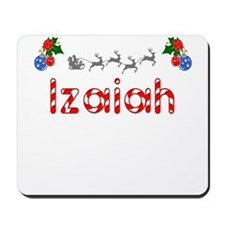Izaiah, Christmas Mousepad