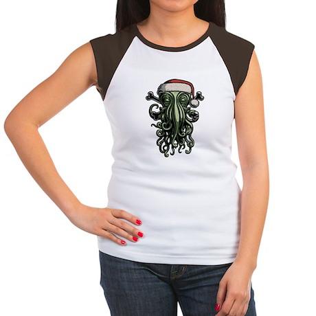 Cthulhu Claus Women's Cap Sleeve T-Shirt