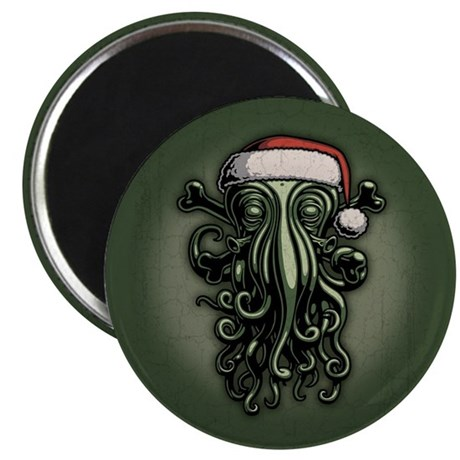 """Cthulhu Claus 2.25"""" Magnet (10 pack)"""