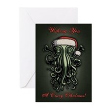 Cthulhu Claus Greeting Cards (Pk of 10)