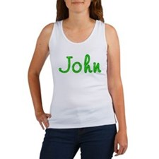 John Glitter Gel Women's Tank Top