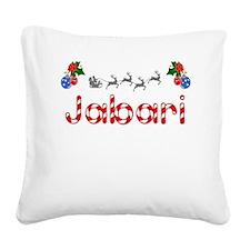 Jabari, Christmas Square Canvas Pillow