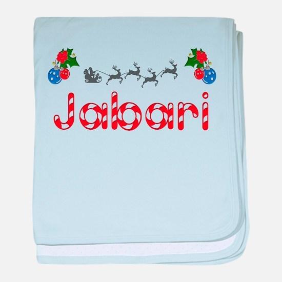 Jabari, Christmas baby blanket