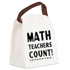 Teachers Count Canvas Lunch Bag
