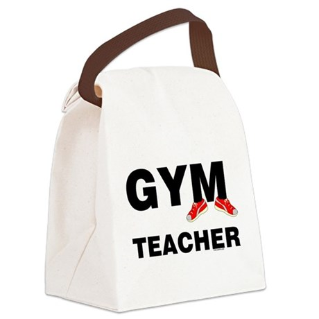 Gym Teacher Sneakers Canvas Lunch Bag