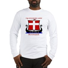 Danish Viking Ancestors Long Sleeve Tee