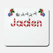 Jaden, Christmas Mousepad