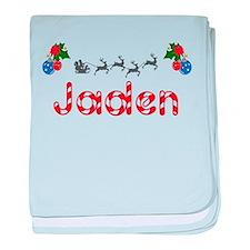 Jaden, Christmas baby blanket
