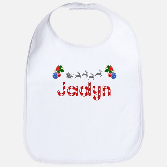 Jadyn, Christmas Bib