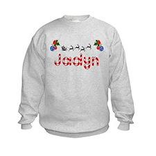 Jadyn, Christmas Sweatshirt