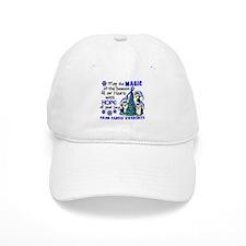 Holiday Penguins Colon Cancer Baseball Cap