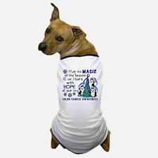Holiday Penguins Colon Cancer Dog T-Shirt
