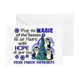 Colon cancer Greeting Cards
