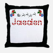 Jaeden, Christmas Throw Pillow