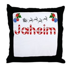 Jaheim, Christmas Throw Pillow