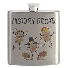 History Rocks Flask