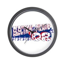 """Election Fraud '08"" Wall Clock"