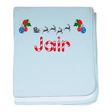 Jair, Christmas baby blanket