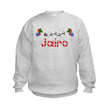 Jairo, Christmas Kids Sweatshirt