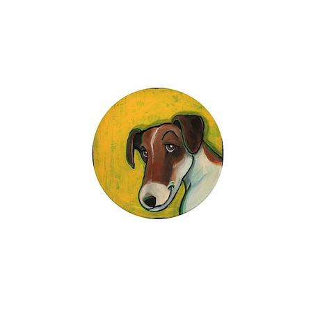 Fox Terrier Mini Button