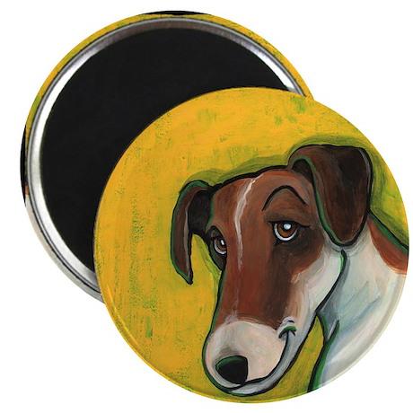 """Fox Terrier 2.25"""" Magnet (100 pack)"""